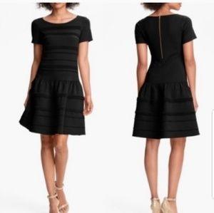Eliza J drop waist black dress